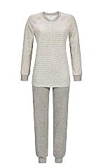 Pyjama stretch-badstof 924