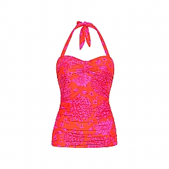 Top Tankini Padded Art of paisley