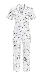 Ringella Pyjama- 7/8 hose