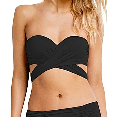 Seafolly Wrap Front Bandeau