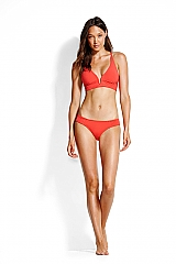 Seafolly Quilted Longline Tri